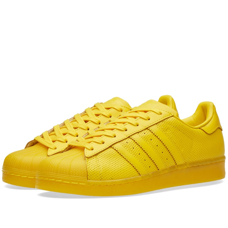 Adidas Men Superstar Adicolor yellow eqtyel PYS