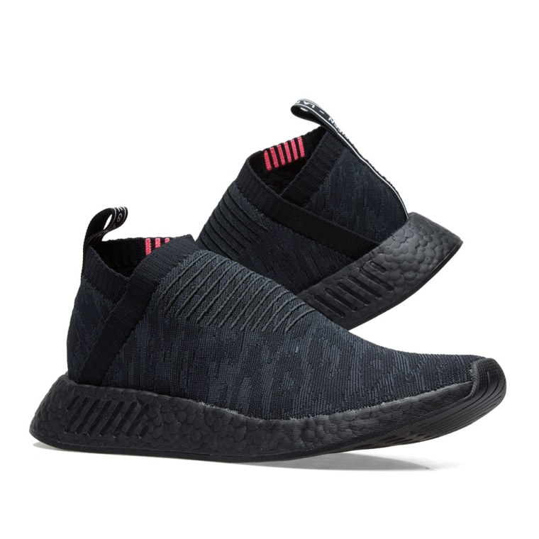 NMD_CS2 - Slipper - core black/carbon/footwear white
