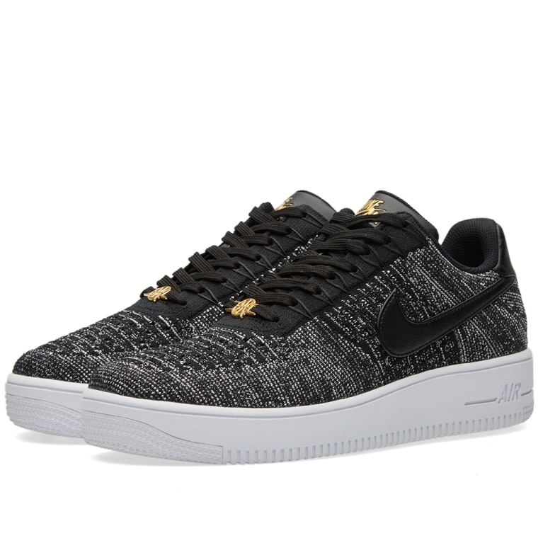 new product 2174b 7e159 ... Grey QS Quai 54 (3) Nike Air Force 1 Ultra Flyknit Low QS Black White  ...