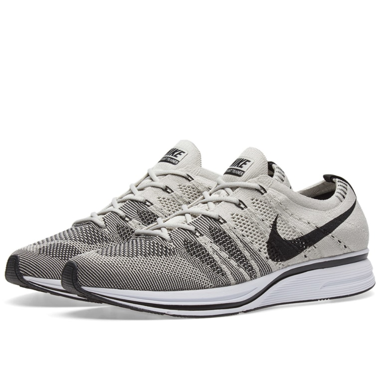 NIKE FLYKNIT TRAINER Pale Grey Men Shoes BRAND NEW Size 12 SOLD OUT..!!!