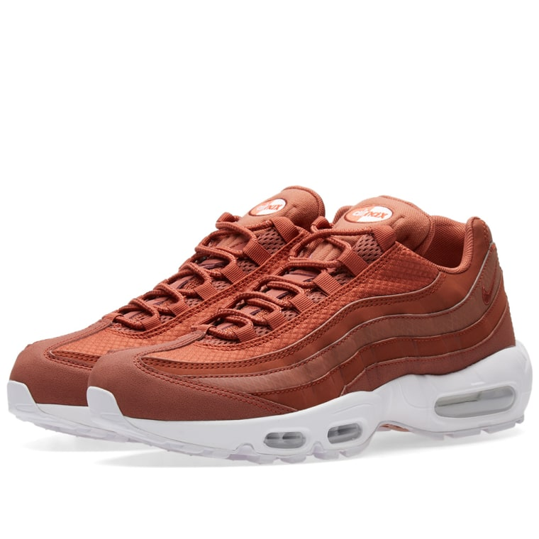 Nike Air Max 95 Premium SE Dusty Peach White Uk Size 9.5 924478200