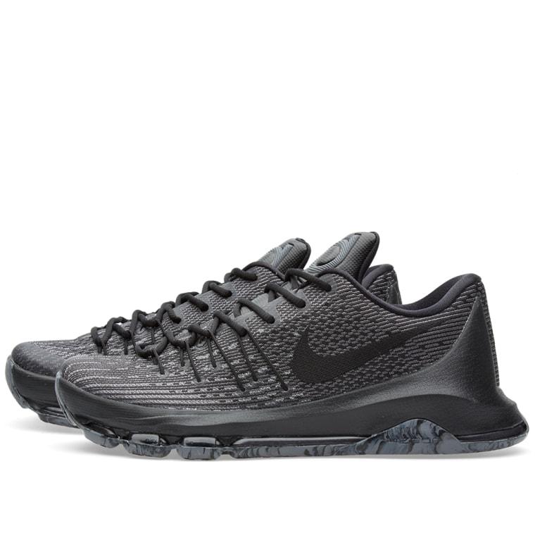 Nike KD 8 \u0027Blackout\u0027 Black 2