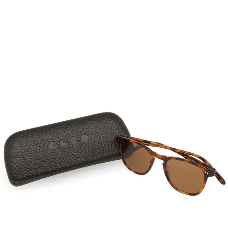 Garrett Leight Brooks Sunglasses (Brown Tortoise & Pure ...