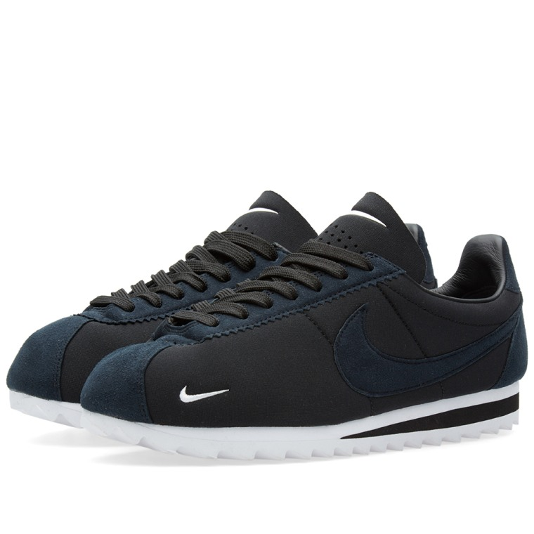 Nike Classic Cortez Shark Low SP Big Tooth Black White
