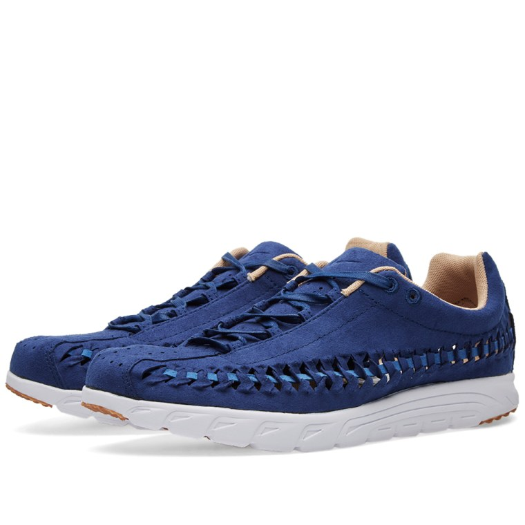 Nike Mayfly Woven Men's Lightweight Shoes Coastal Blue/Off White