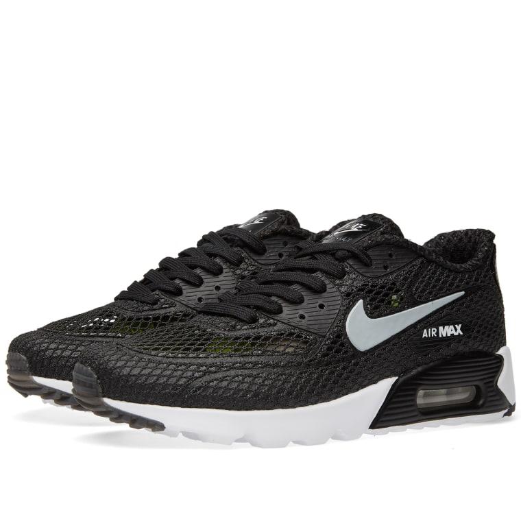 New Nike Air Max 90 Ultra BR Plus QS  black White  Running Shoes sz 13