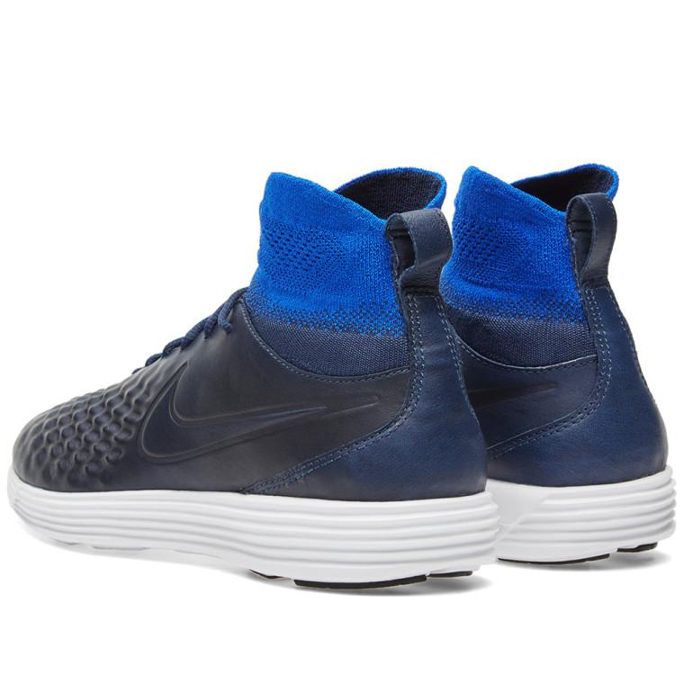 56e12c083bd6d9 nike lunar magista ii fk college navy blue shoes