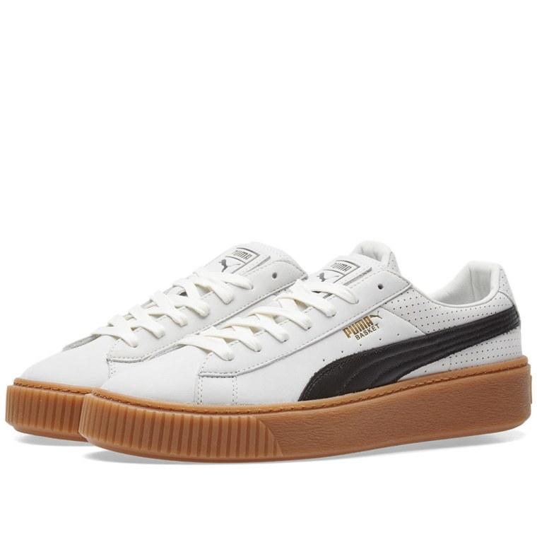Baskets Puma Black White Gum