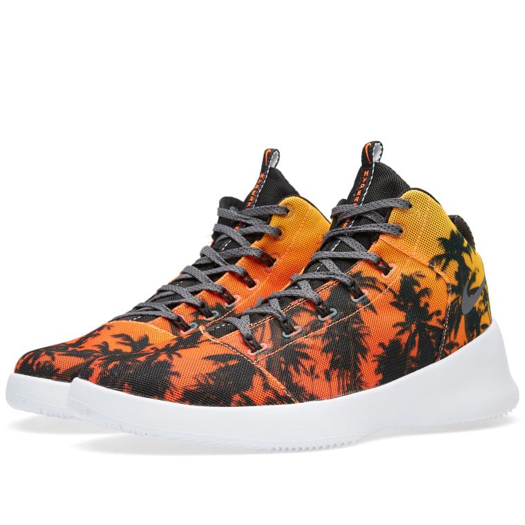 Nike Laser Orange Dark Grey Hyperfr3sh Qs Store Deals