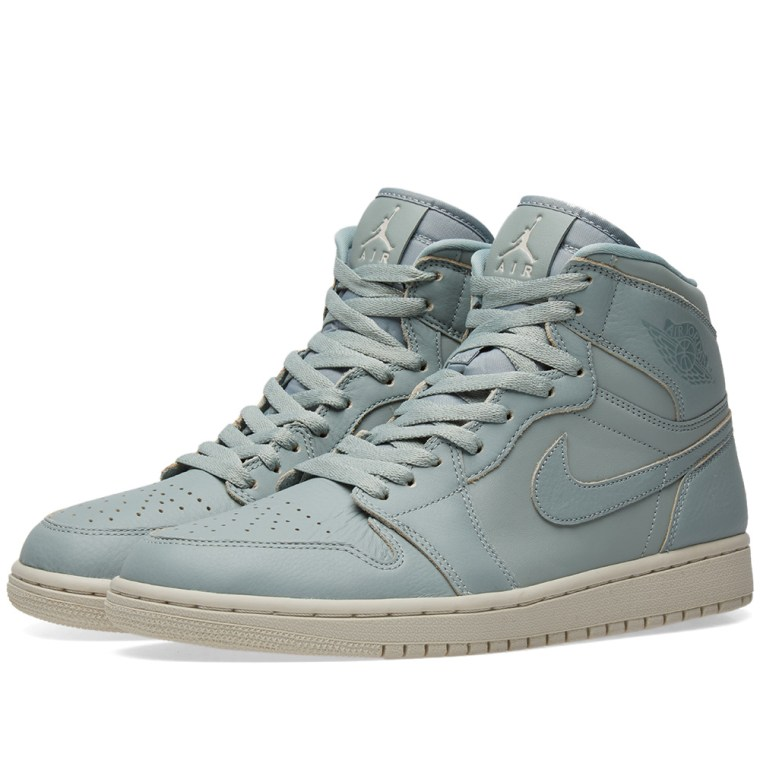Air Jordan 1 Retro High Premium Mica Green/ Mica Green
