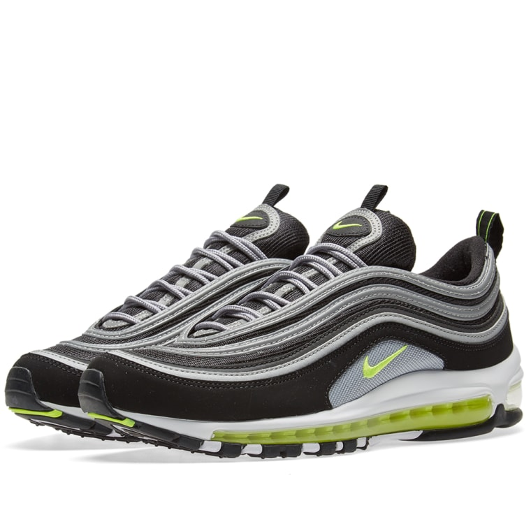 nike air max 97 japan og black volt metallic silver end. Black Bedroom Furniture Sets. Home Design Ideas