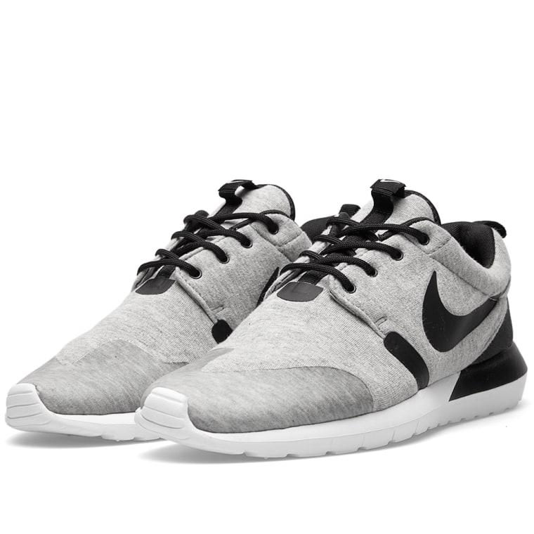 nike roshe run nm w sp - grey heather/white/black