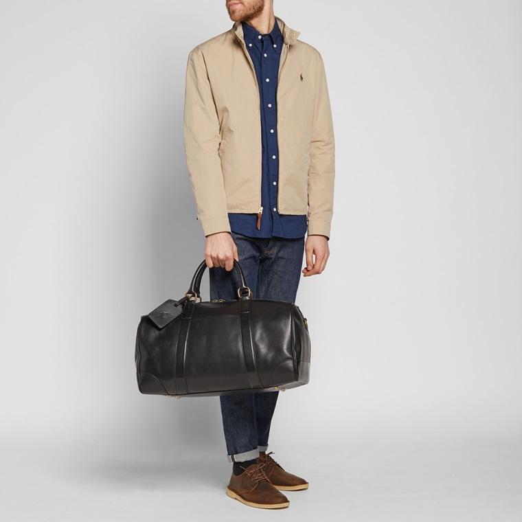 ... ireland polo ralph lauren leather duffle bag black modelfull 12 bb504  cfd10 e37b1c3839
