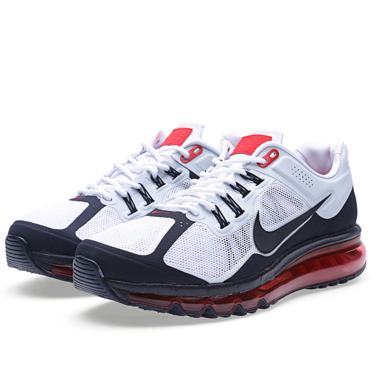 b64839eb43ad ... nike air max 2013 ext qs white dark obsidian red 1