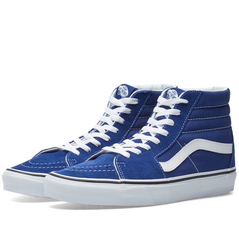 SK8-HI - Sneaker high - estate blue/true white