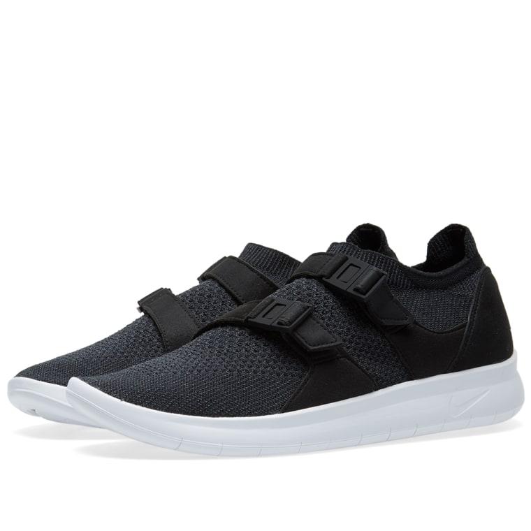 Nike Air Sockracer Flyknit Black  Anthracite  White 1