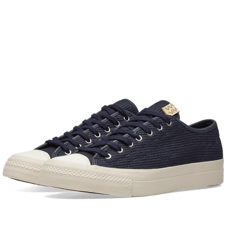 Visvim Navy Skagway Lo Dogi Sneakers