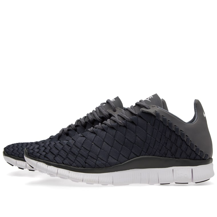 on sale bf517 c4c53 Nike Free Inneva Woven Anthracite, White Dark Grey ...