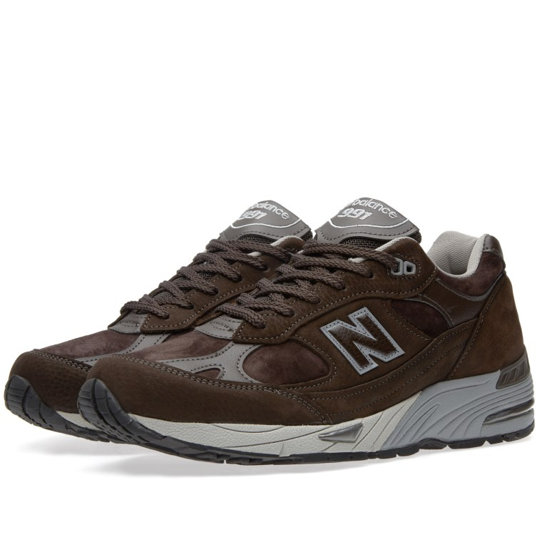 New Balance M991SDB Made in England Brown Grey