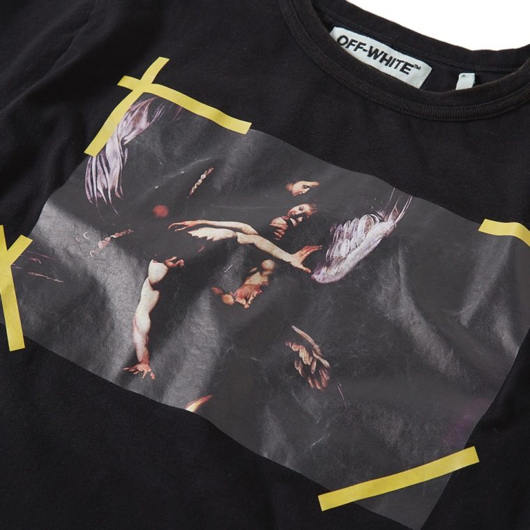 Off White Oil Painting Tee