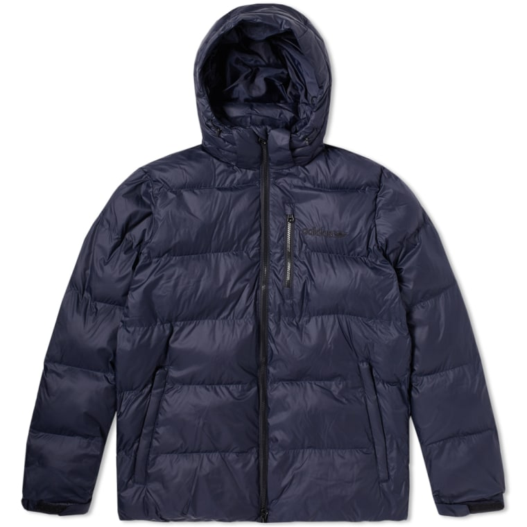 Adidas Hooded Down Jacket (Legend Ink)