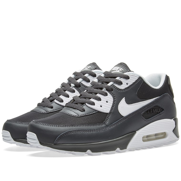 Nike Air Max 90 Essential Mens 537384-089 Anthracite Running Shoes Size 11.5