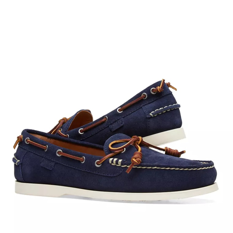 Polo Ralph LaurenMILLARD - Boat shoes - aviator navy