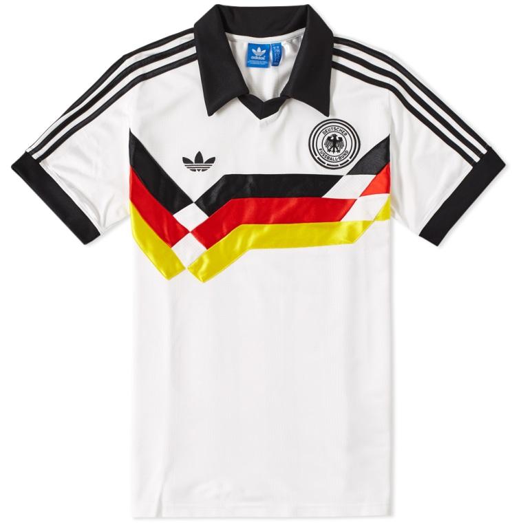 Adidas Retro Germany Shirt White End