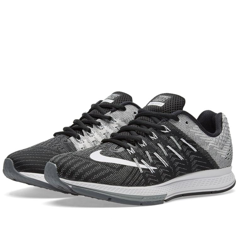Nike Air Zoom Elite 8 Black White Wolf Grey (748588-001)