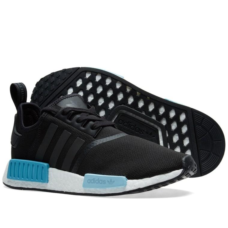 online retailer ada71 59421 Adidas NMD R1 W Core Black  u0026 Icey Blue 7