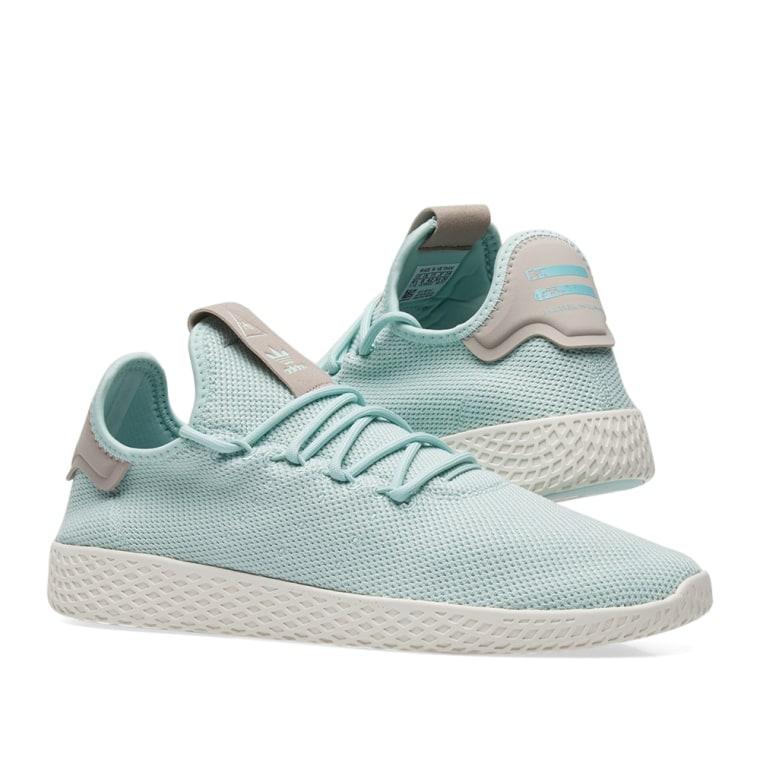 adidas x Pharrell Williams Tennis HU W Ash Green/ Ash Green/ Ash Grey