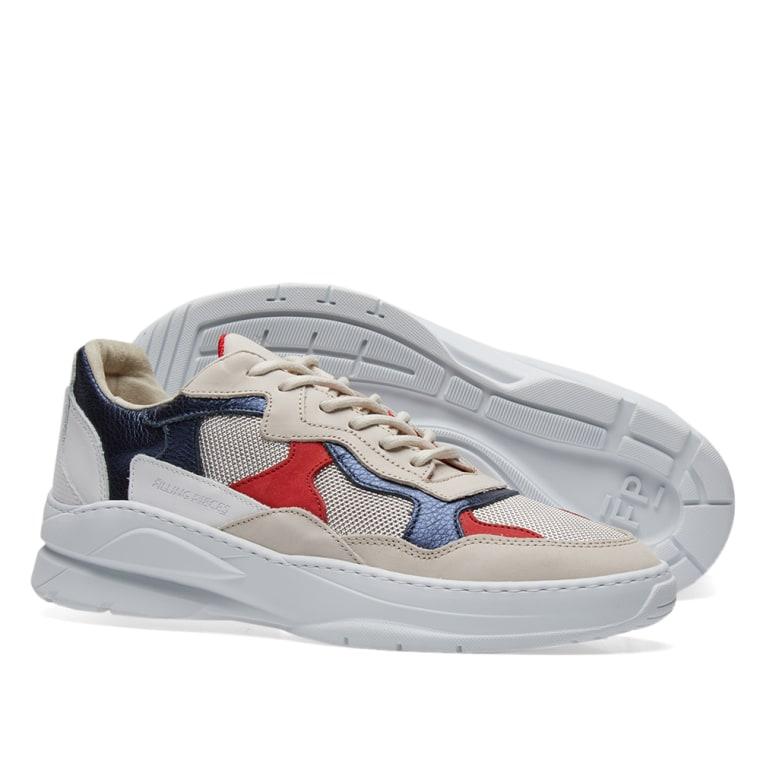 THUNDER MIX RUNNER - Sneaker low - navy
