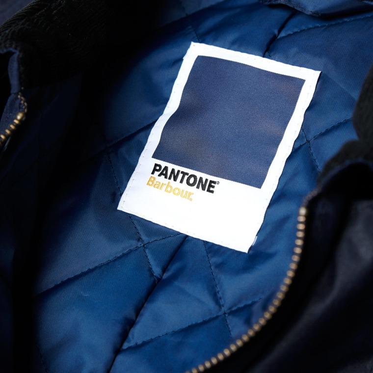 Pantone x Barbour Clothing forecast