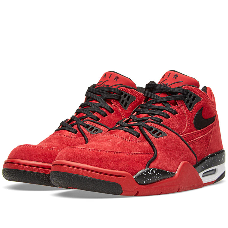 watch e3188 31ef9 ... Nike Air Flight 89 Gym Red Black ...