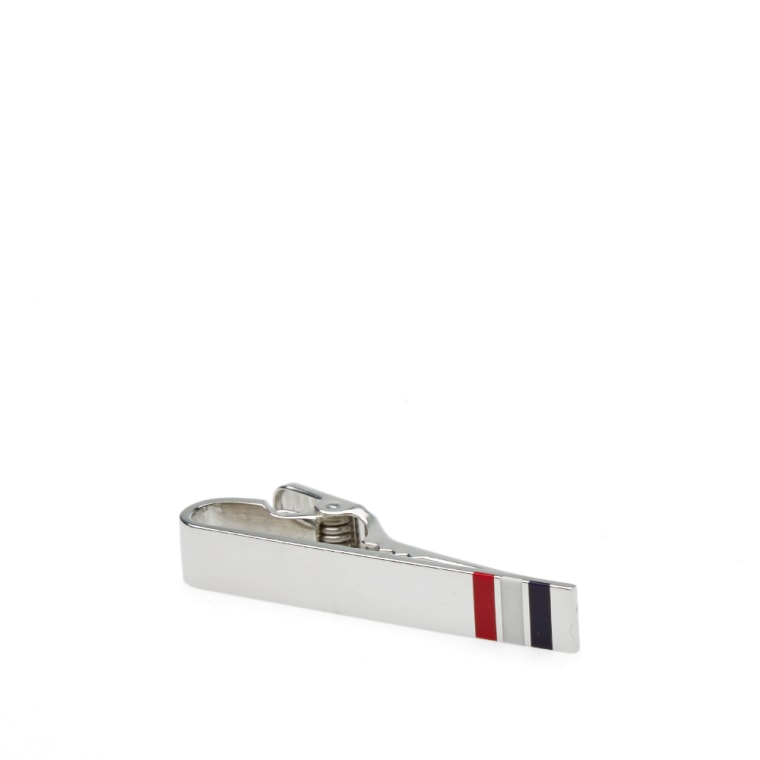 classic long tie bar - Metallic Thom Browne