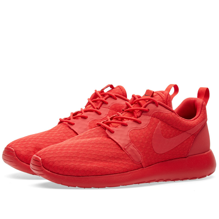 nike roshe one hyperfuse red and white