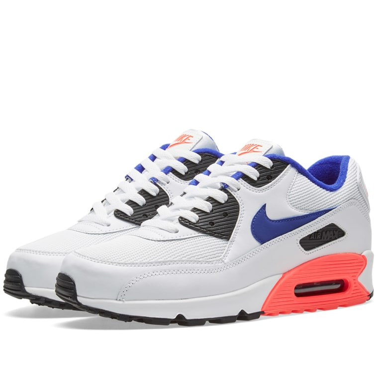 Mens Nike Air Max 90 Essential 537384-136 White Brand New Size 11.5