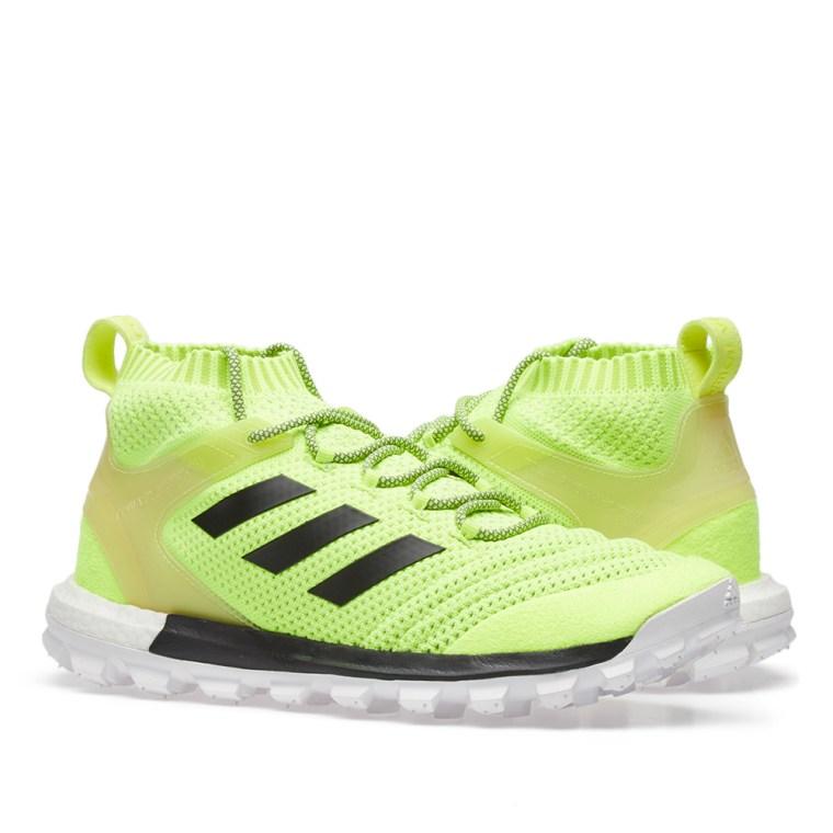 Yellow adidas Originals Edition Copa Mid PK Sneakers Gosha Rubchinskiy