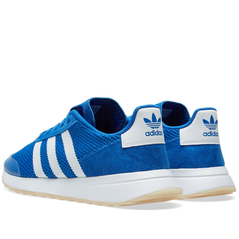 new style 6b1f1 046a7 adidas flashback shoes blue