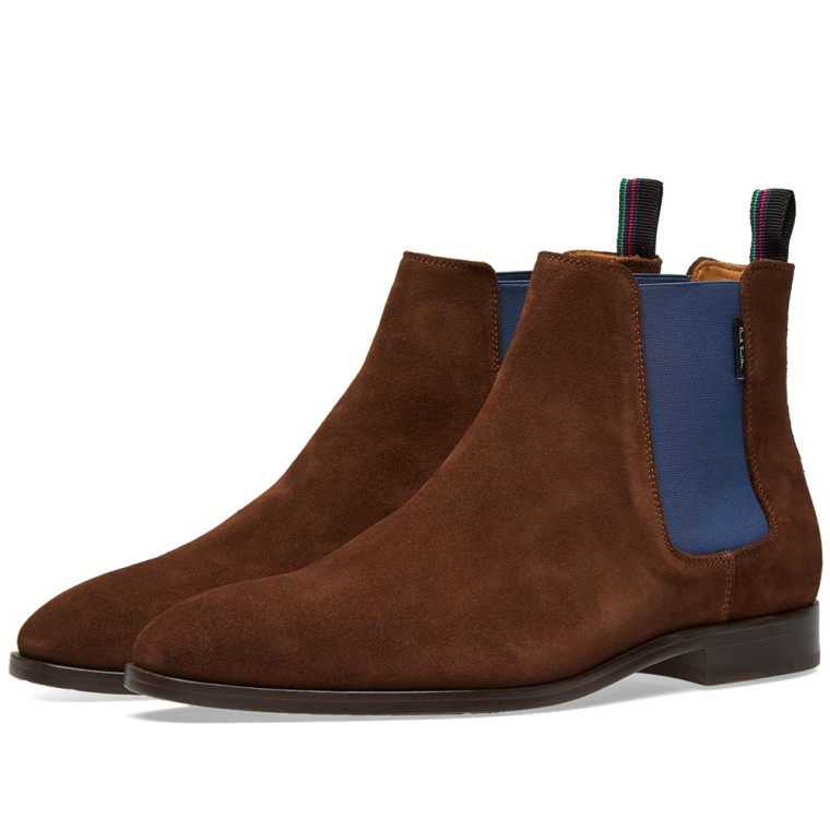 Paul Smith Gerald Chelsea Boot Chocolate End