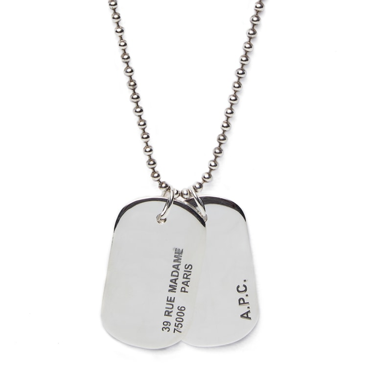 necklace pendant army