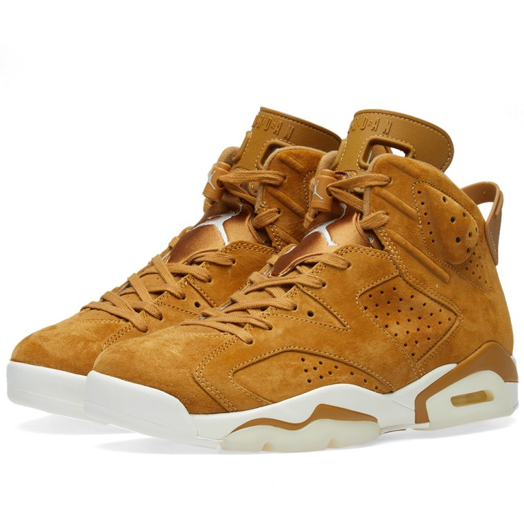 bd6733476d17 ... nike air jordan 6 retro golden harvest sail 1