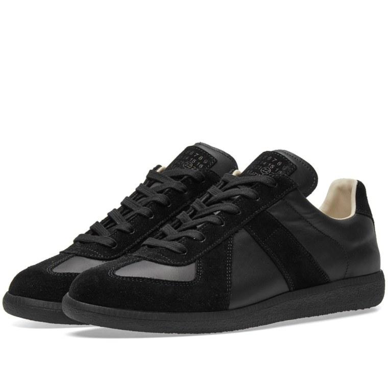Maison margiela 22 classic replica sneaker black end for Maison margiela 22
