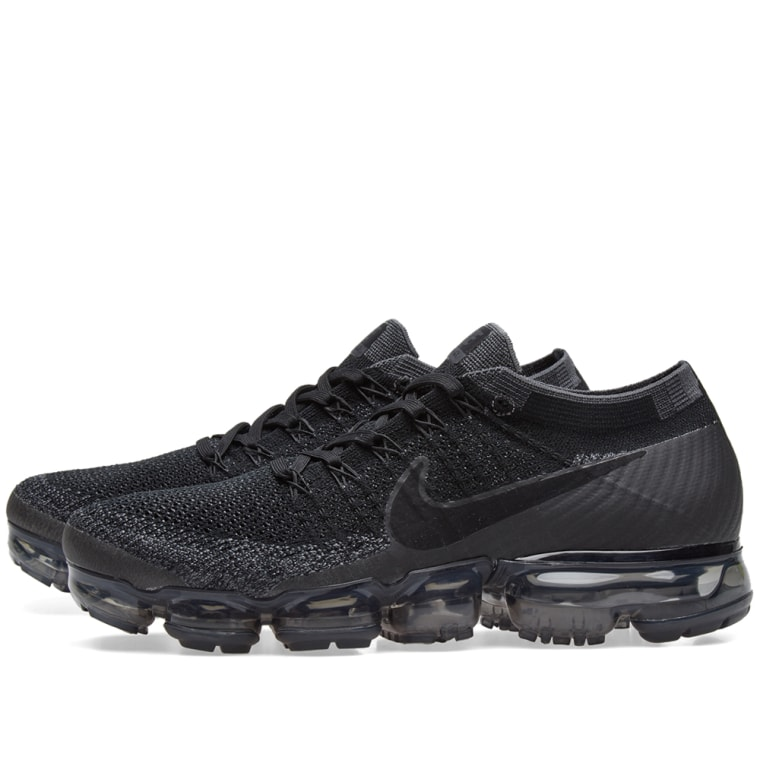 Most Expensive Mens Womens Nike Air VaporMax Flyknit For Black Anthracite Triple Black 849557 006