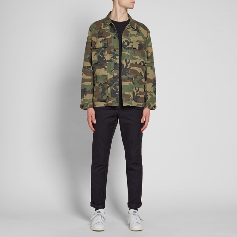 Stussy Letts BDU Jacket (Camo)