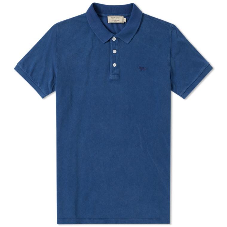 Maison Kitsuné Cotton-piqué Polo Shirt - Green