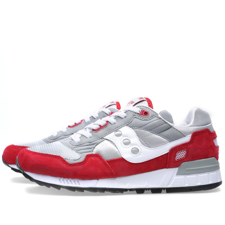 Saucony Shadow 5000 - Grey/Red Special Sales