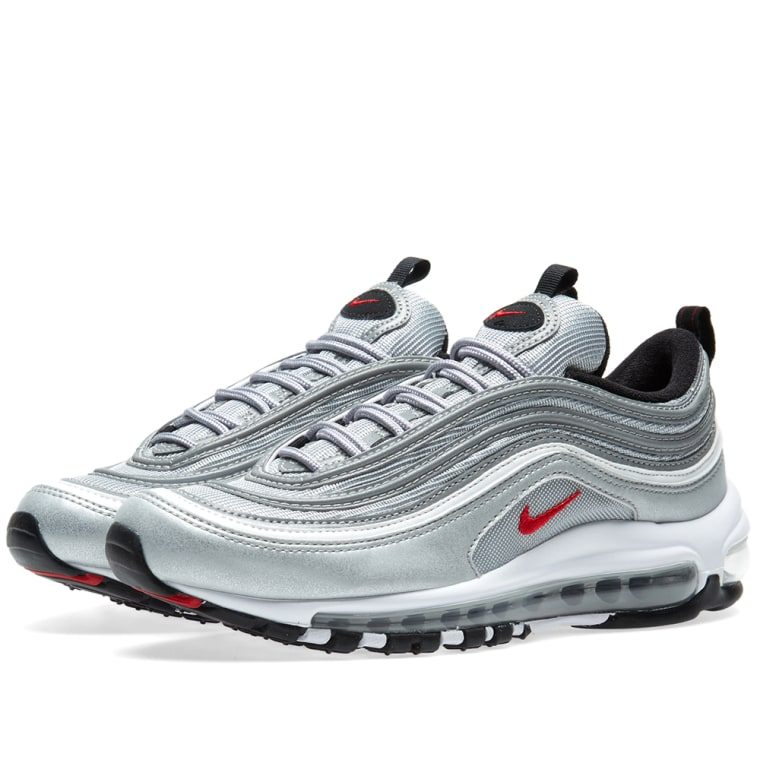 nike air max 97 og qs metallic silver varsity red end. Black Bedroom Furniture Sets. Home Design Ideas
