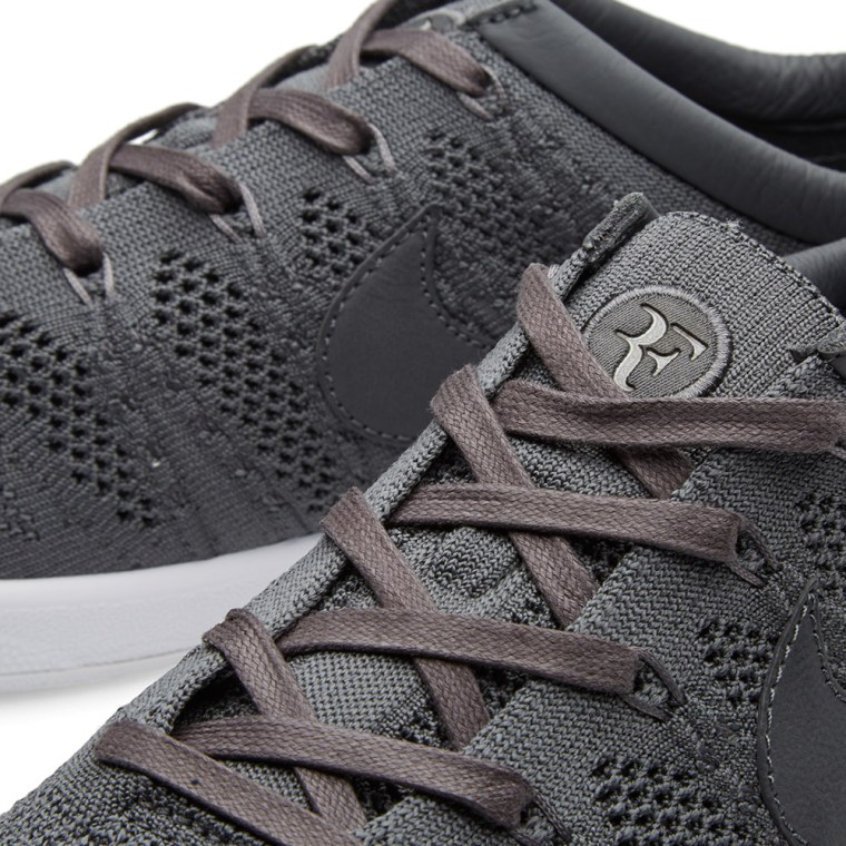 finest selection a877f fae10 NikeLab Zoom Tennis Classic Ultra Flyknit RF Dark Grey   White 5