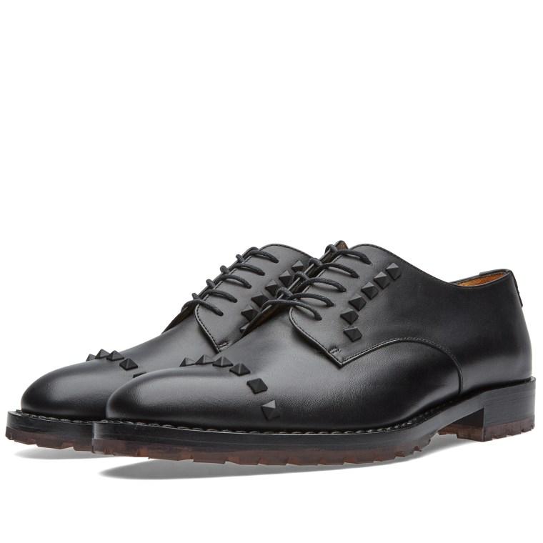 Black Studs derby shoes Valentino